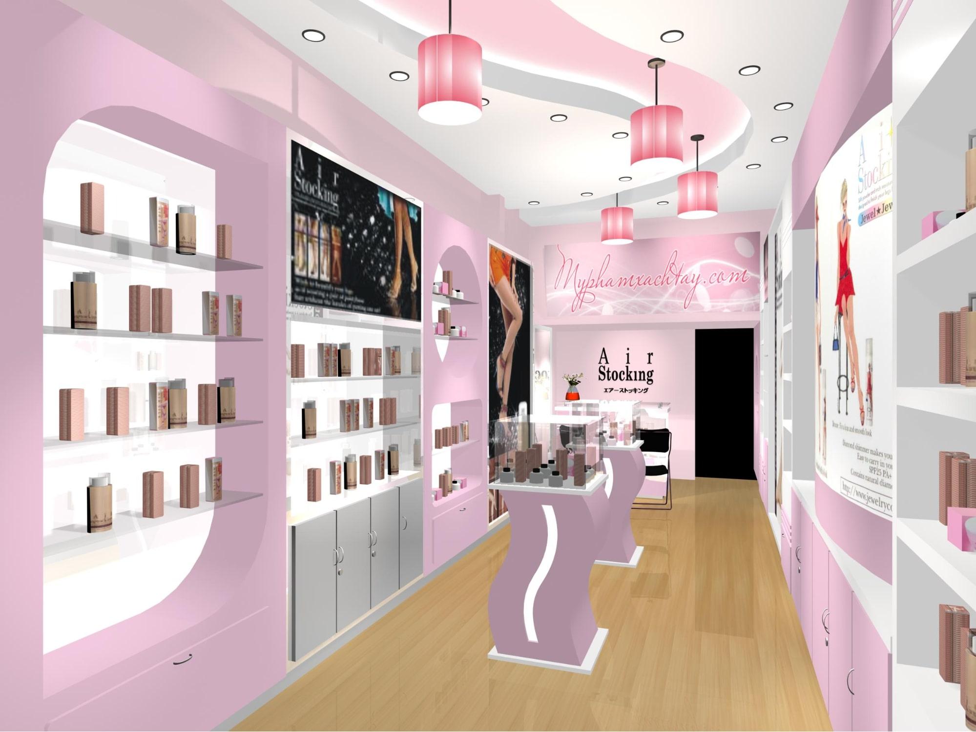 thiết kế showroom đẹp hiện đại