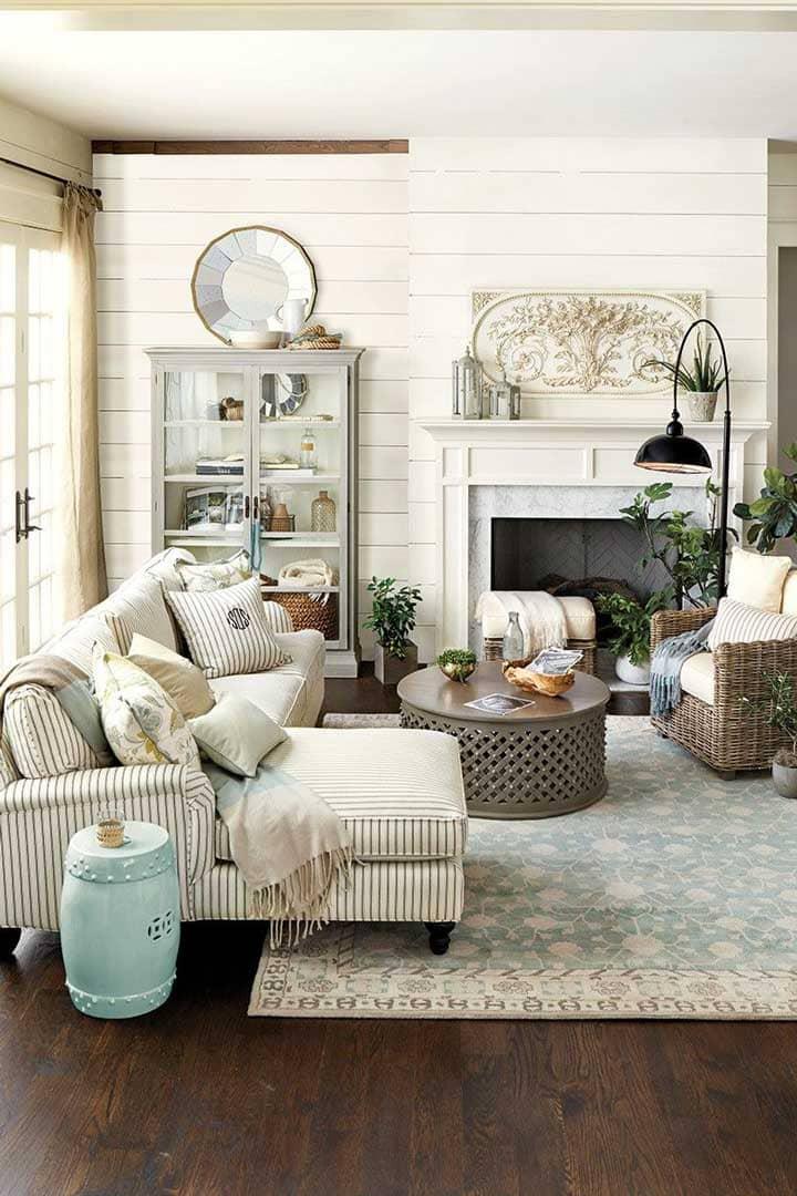 trang trí nội thất phong cách đồng quê - Housedesign