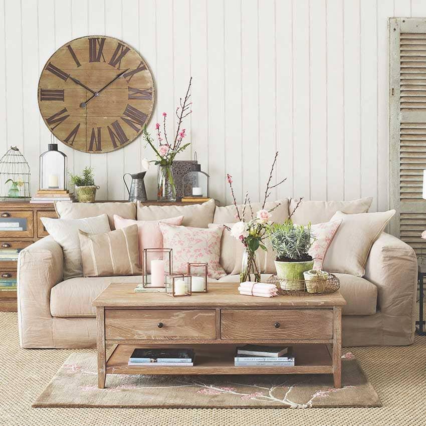 trang trí nội thất phong cách đồng quê đẹp - Housedesign