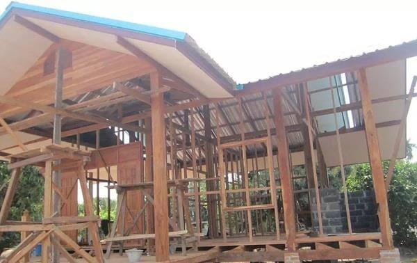 thiết kế nhà gỗ đẹp trong sự đơn giản