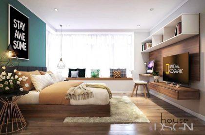 Thiết kế nội thất căn hộ Lakeview chuyên nghiệp