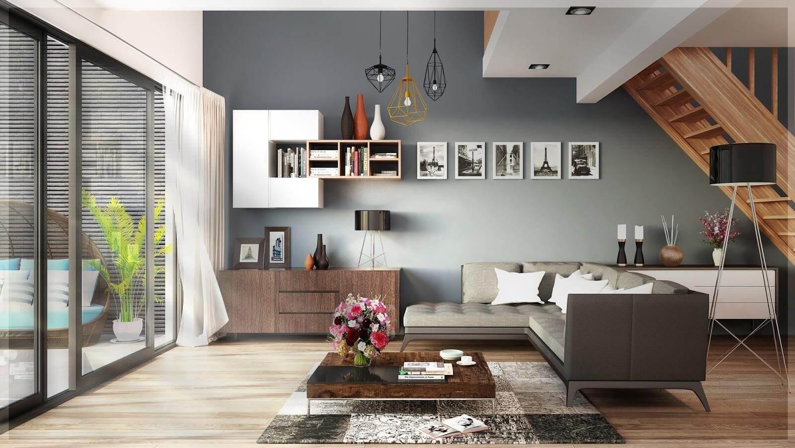 thiết kế theo xu hướng nội thất 2019