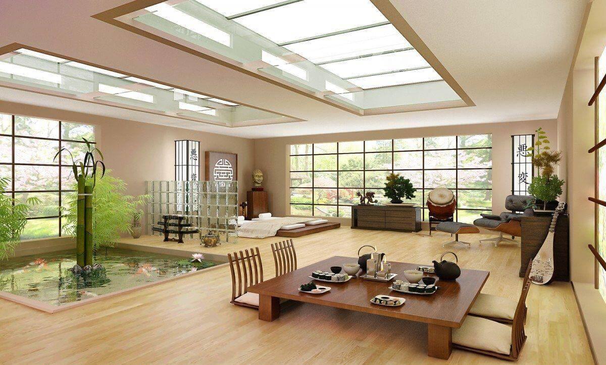 Xu hướng nội thất Nhật Bản