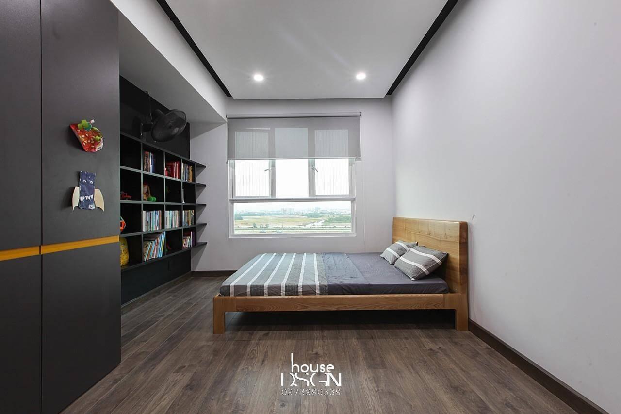thiết kế nội thất chung cư 100m2 tiện nghi