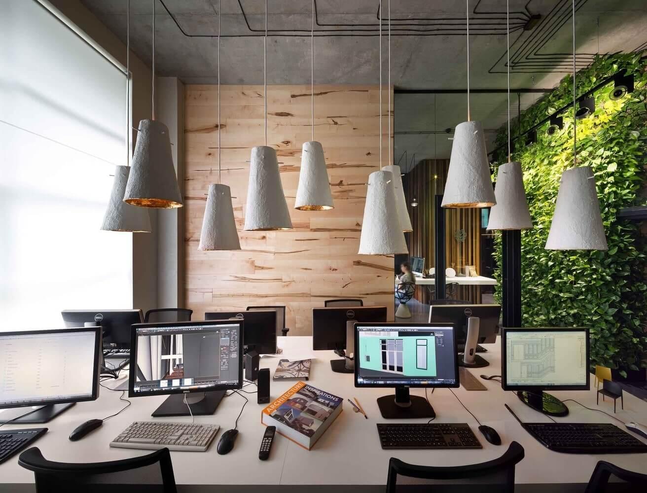 các xu hướng thiết kế văn phòng 2018