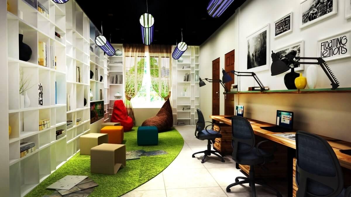 xu hướng thiết kế nội thất văn phòng hot nhất
