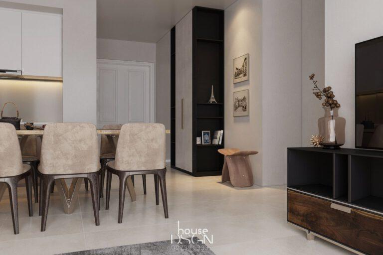 Thiết kế nội thất Vinhome Golden Riverside