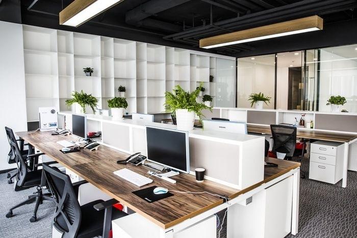 bảng báo giá thiết kế nội thất văn phòng