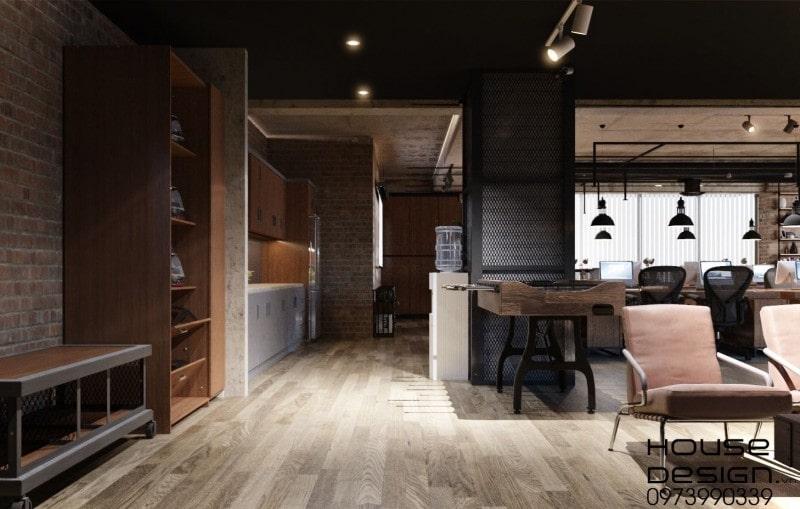 chi phí thiết kế nội thất văn phòng 2020