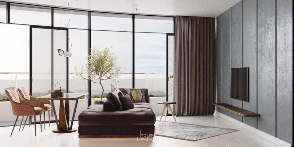 phong cách thiết kế nội thất đương đại đẹp nhất