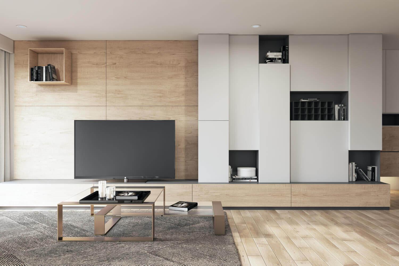 các mẫu thiết kế nội thất phong cách đương đại đẹp
