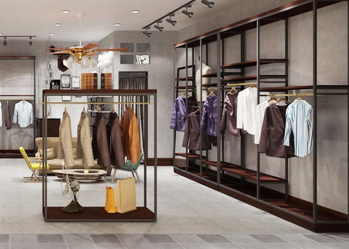 phong cách thiết kế nội thất shop quần áo nữ