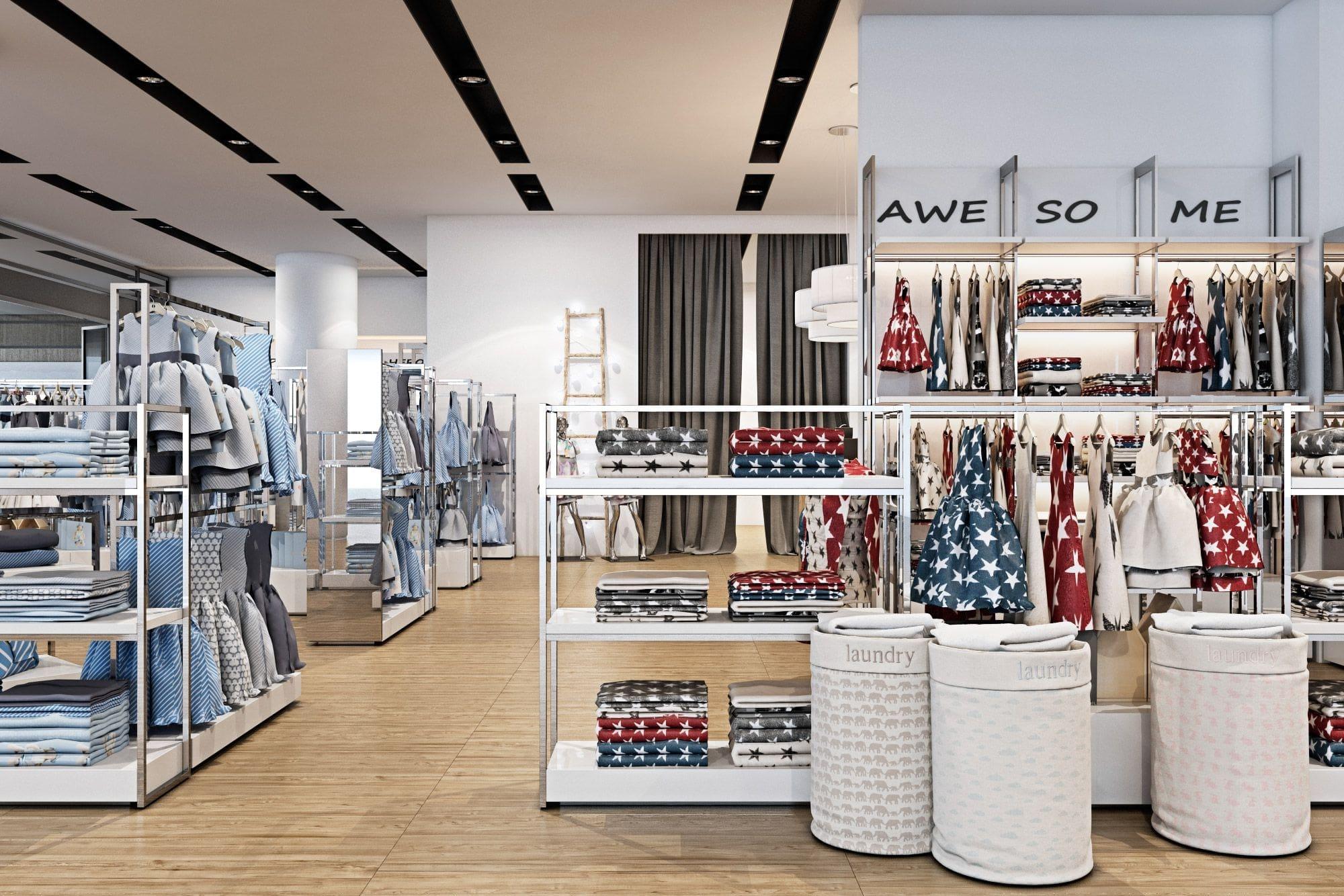 công ty thiết kế nội thất shop thời trang ở đâu