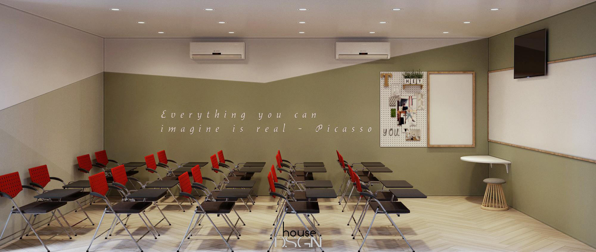 phong cách thiết kế nội thất văn phòng giá rẻ đẹp
