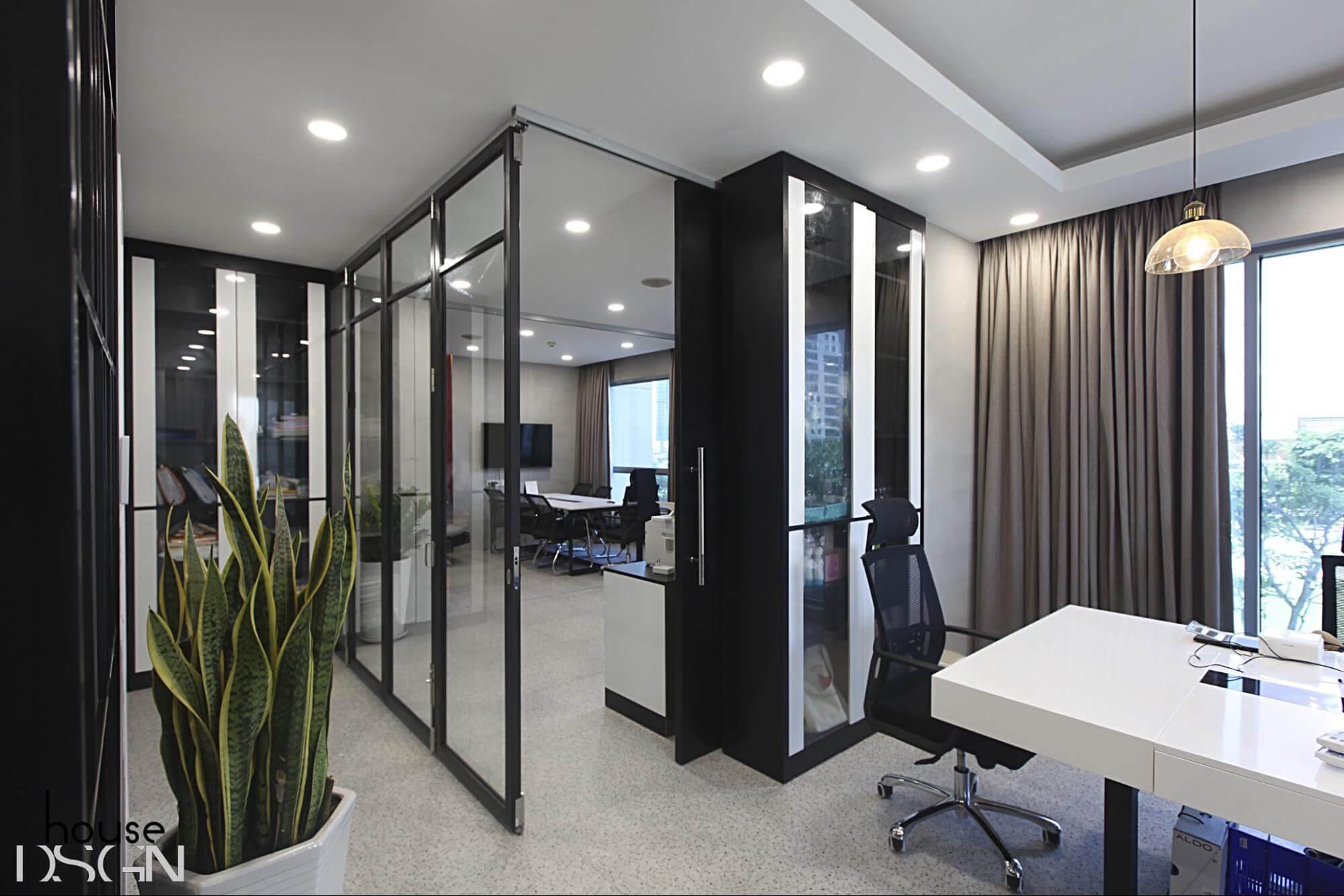mẫu thiết kế nội thất văn phòng hiện đại đẹp