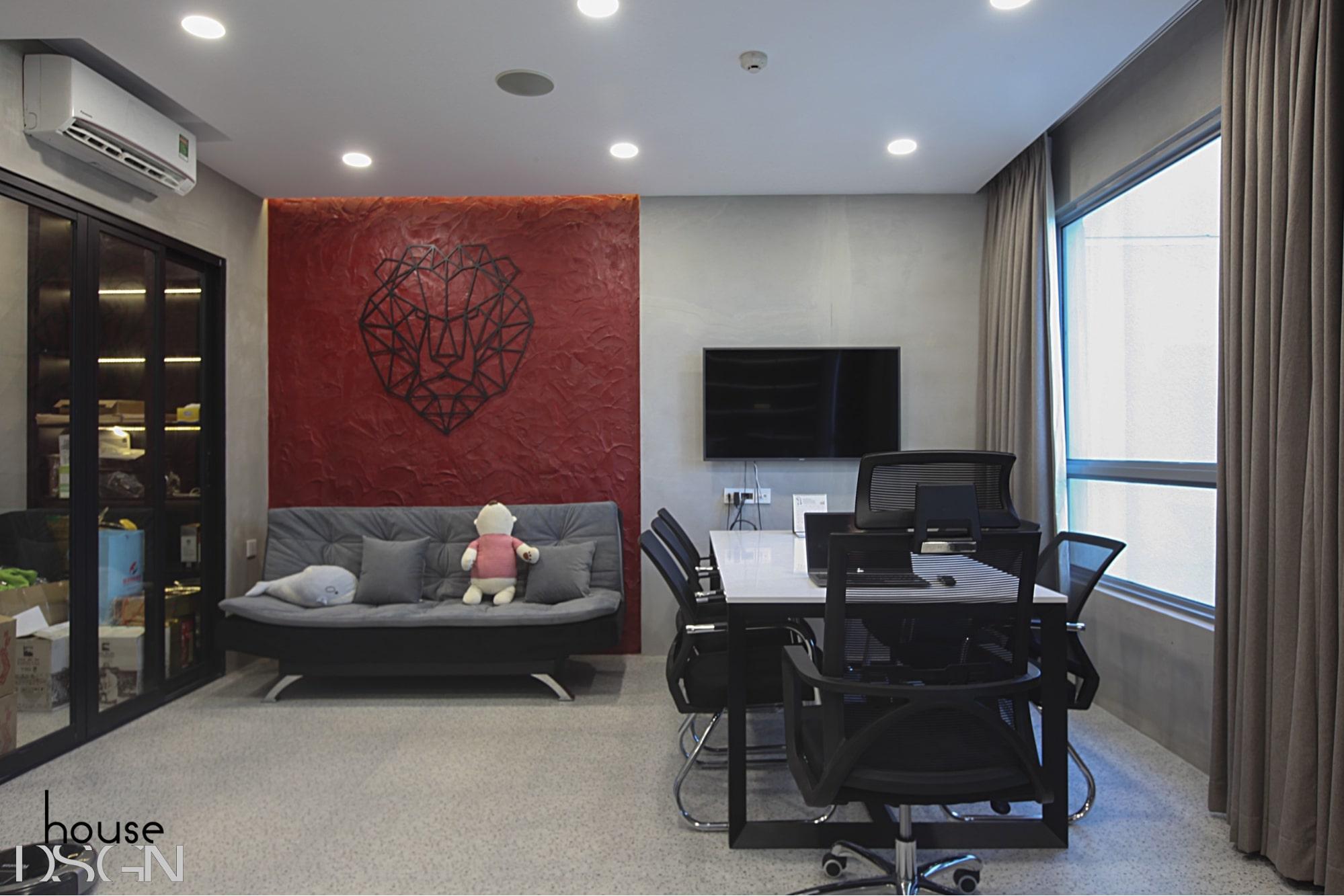 mẫu thiết kế nội thất văn phòng tphcm đẹp