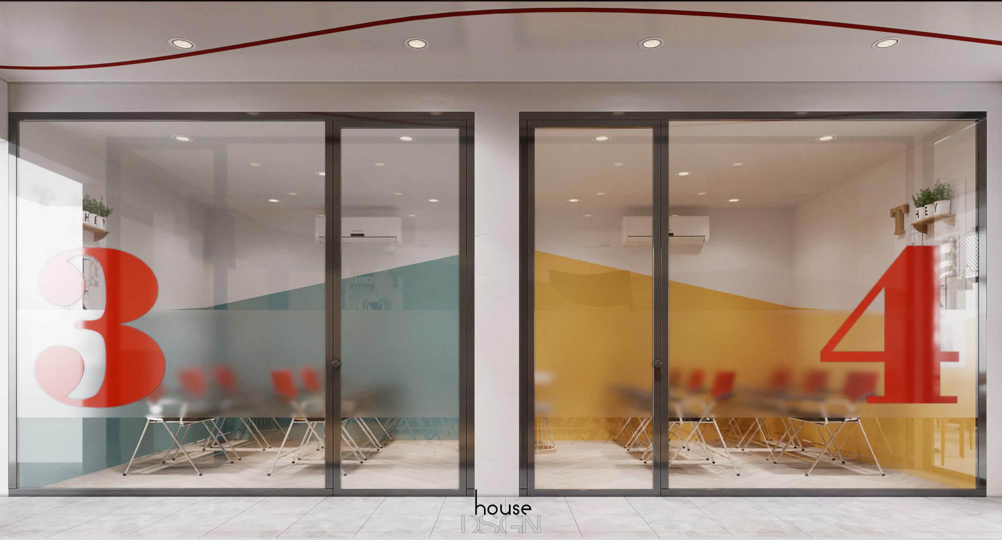 thiết kế thi công nội thất văn phòng hiện đại đẹp
