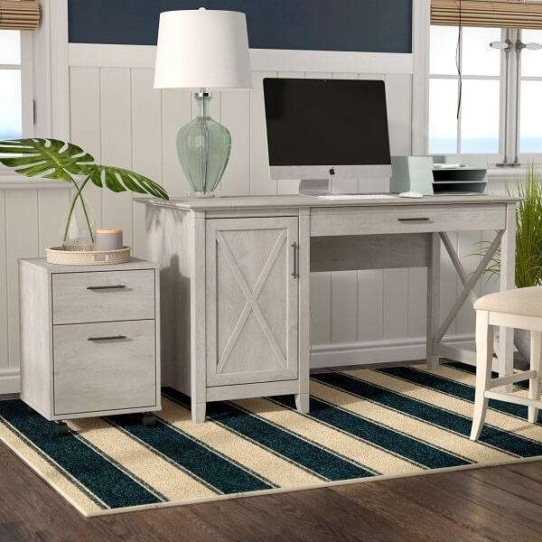 bố trí bàn làm việc nhỏ trong phòng ngủ