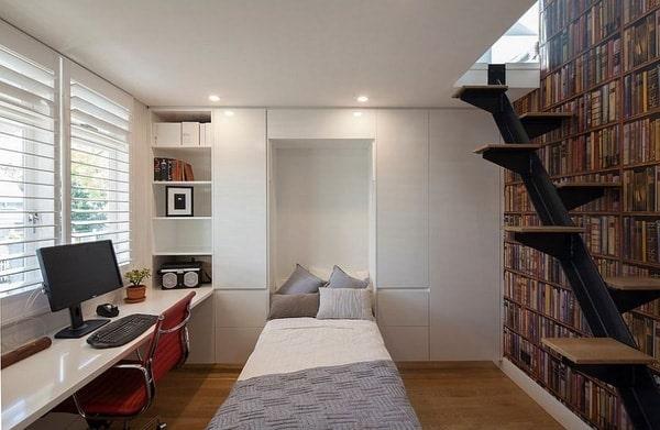 trang trí bàn nhỏ để phòng ngủ