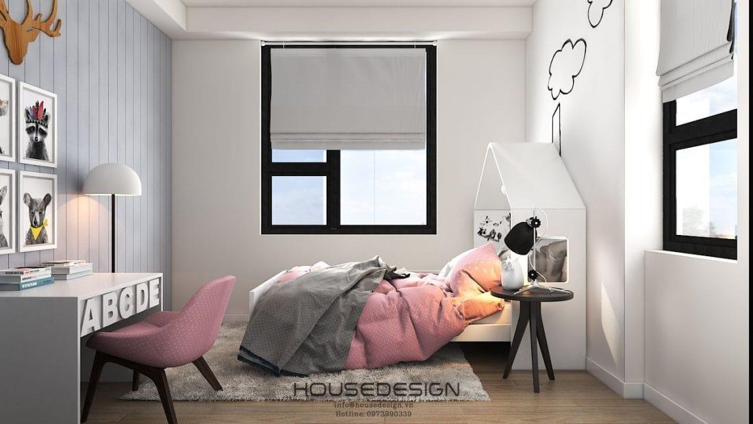 thiết kế nội thất bàn phòng ngủ đẹp