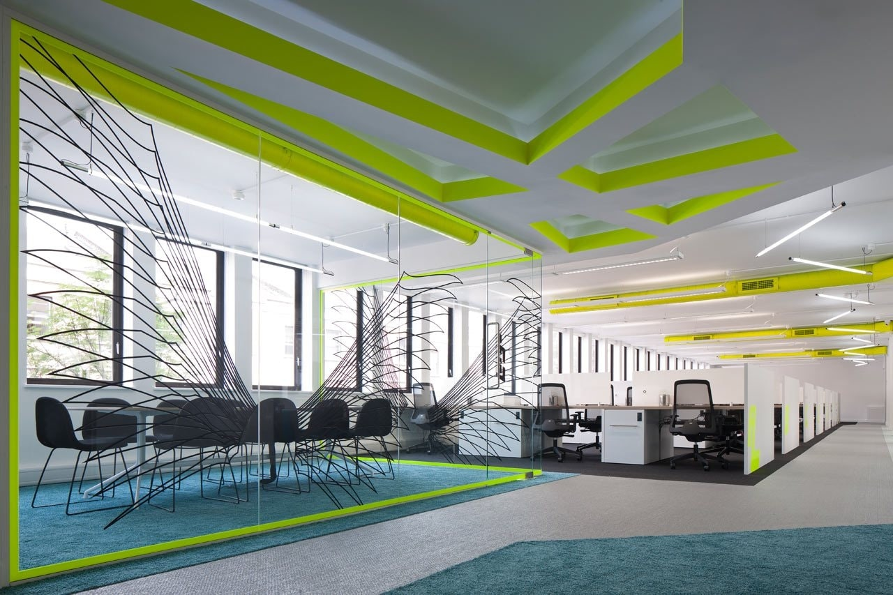 Designing a working room for employees 2020
