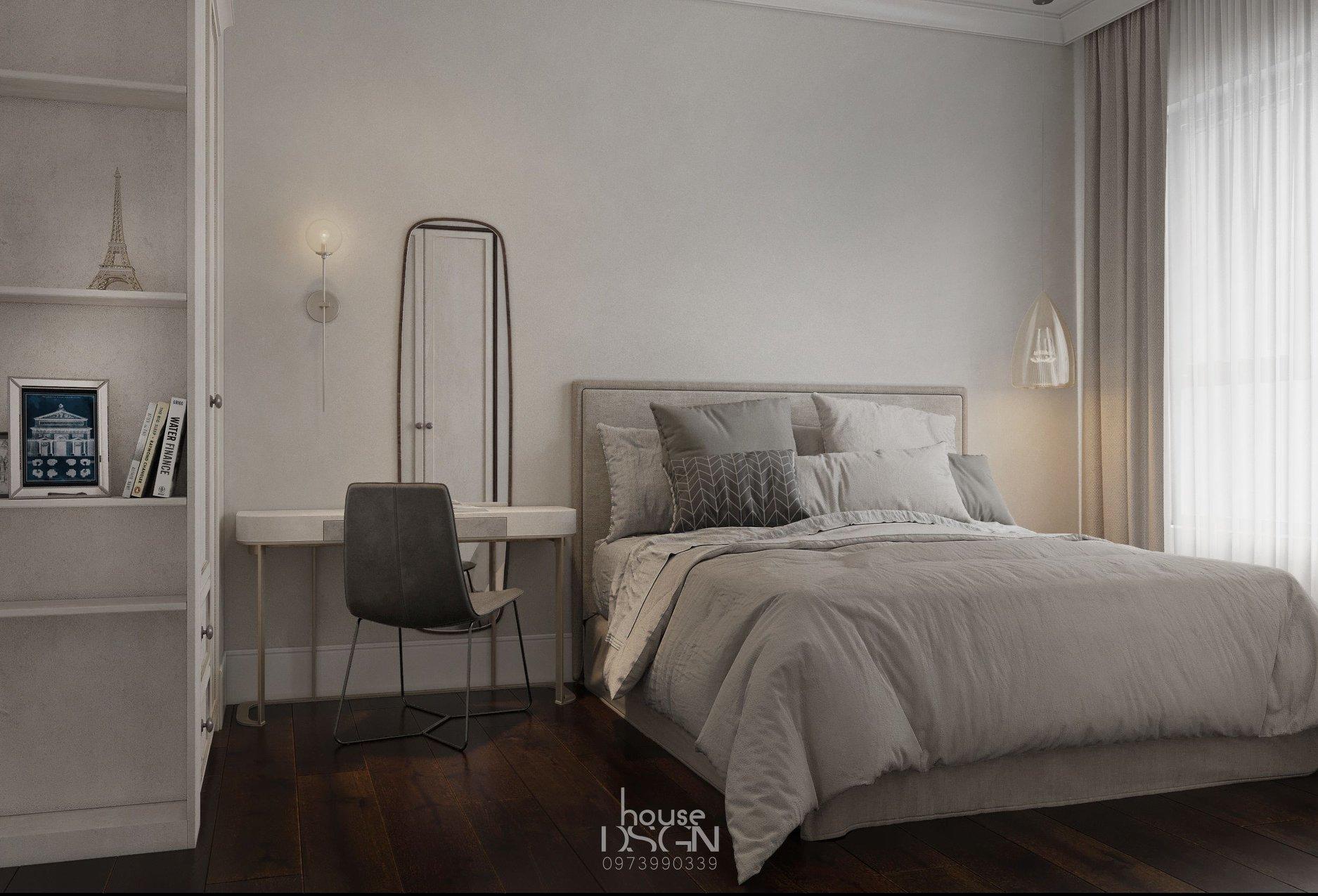 mẫu căn hộ 45m2 đẹp tại Housedesign