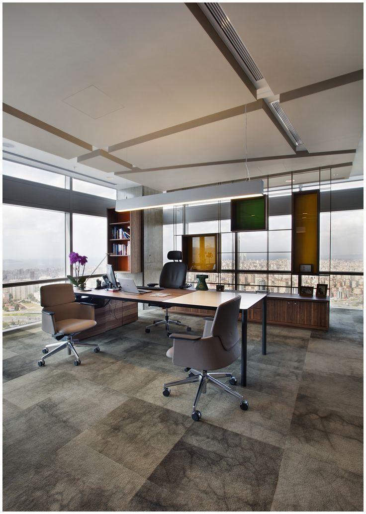 mẫu nội thất phòng giám đốc ấn tượng