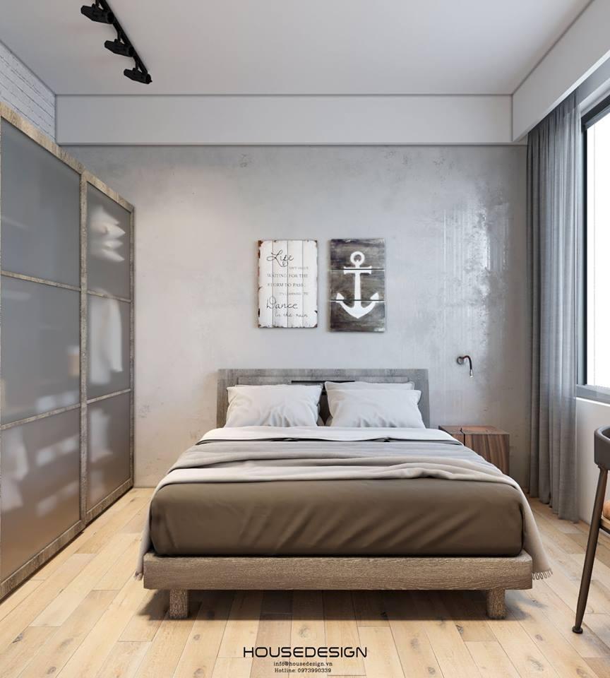 mẫu thiết kế nội thất chung cư 45m2 ấn tượng