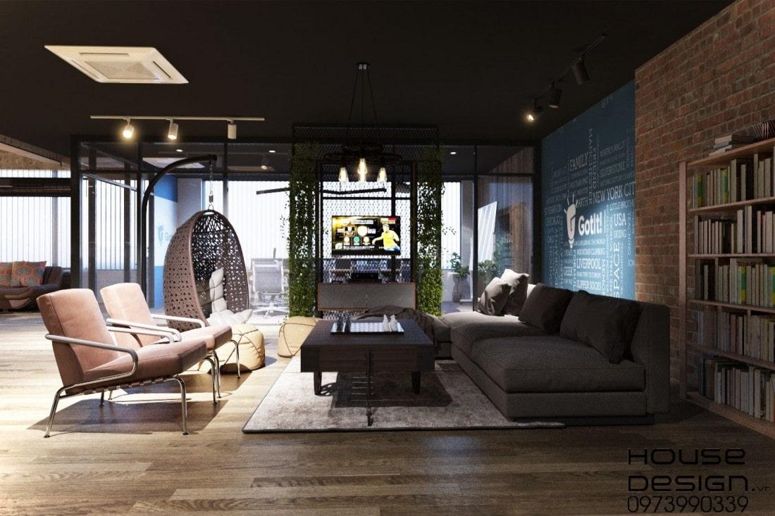 mẫu thiết kế nội thất văn phòng đẹp nhất 2020