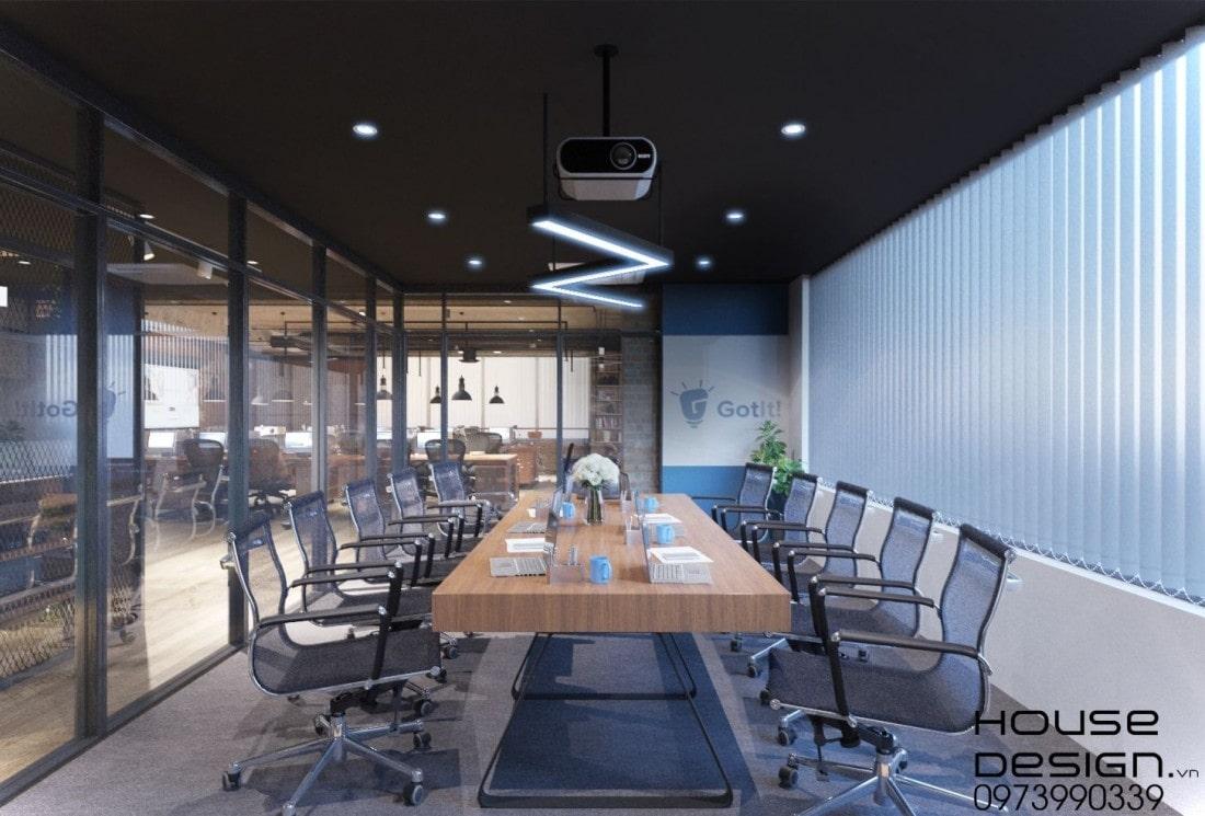 mẫu thiết kế nội thất văn phòng đẹp 2020