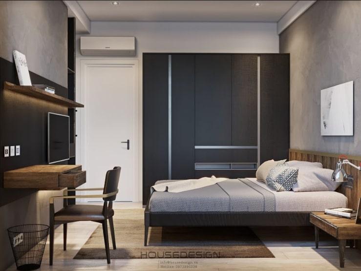 nội thất cho căn hộ chung cư 45m2 độc đáo
