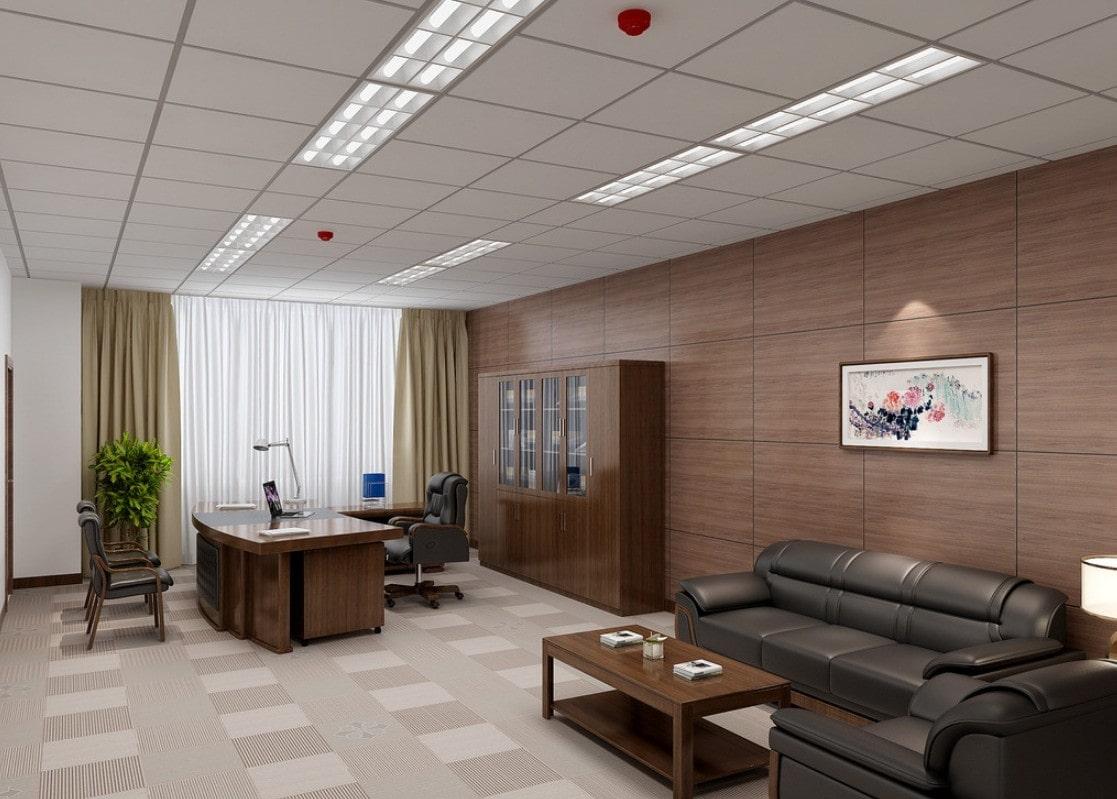 thiết kế nội thất cho phòng giám đốc
