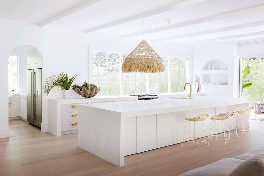 trang trí nội thất địa trung hải cho nhà bếp