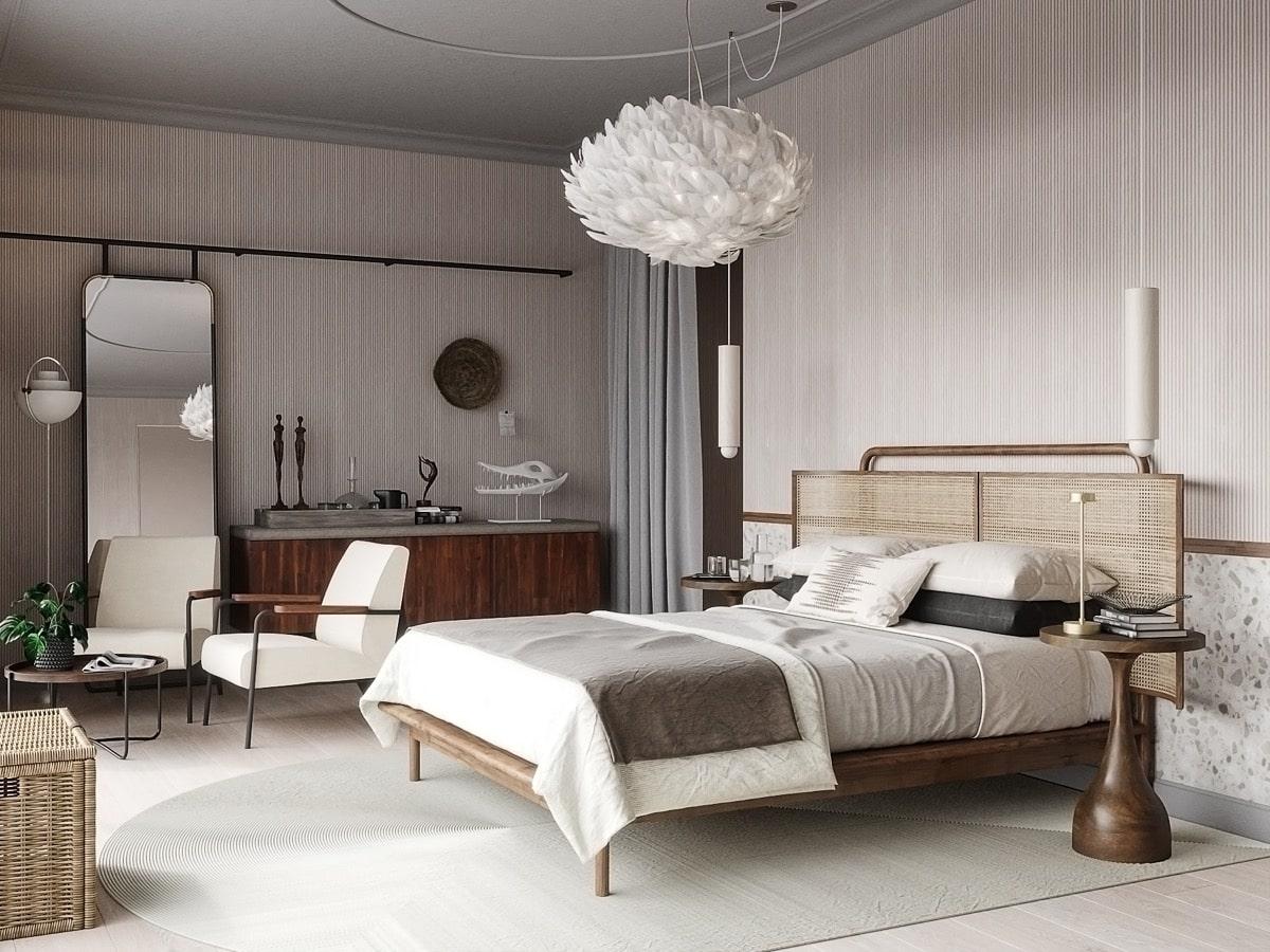 thiết kế phòng ngủ địa trung hải