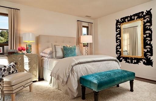 thiết kế phòng ngủ phong cách địa trung hải
