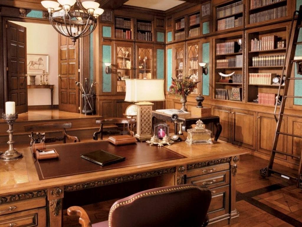sắp xếp nội thất phòng giám đốc tiện nghi