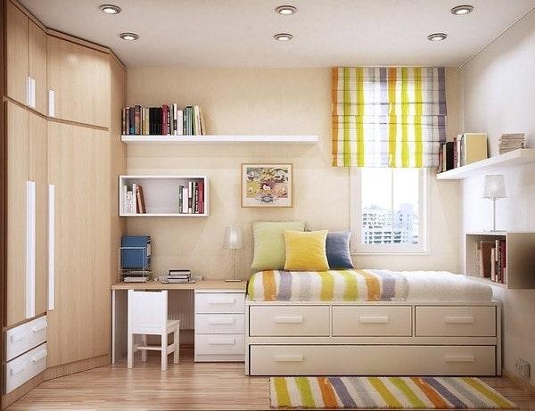 mẫu thiết kế bàn làm việc trong phòng ngủ như thế nào