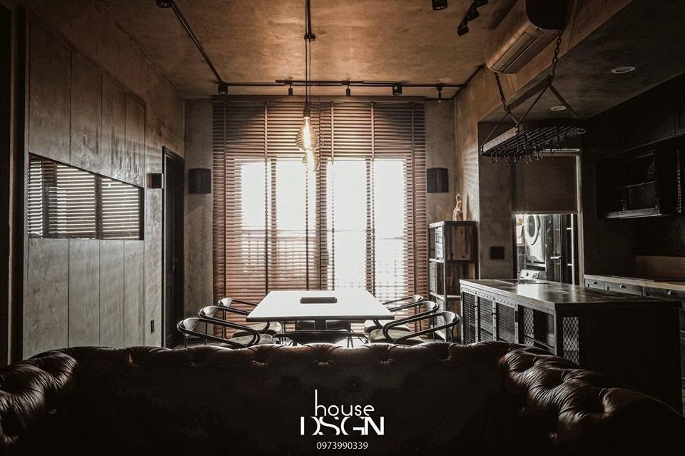 thiết kế nội thất căn hộ chung cư 45m2 hot