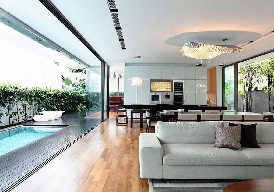thiết kế nội thất chung cư 45m2 ấn tượng