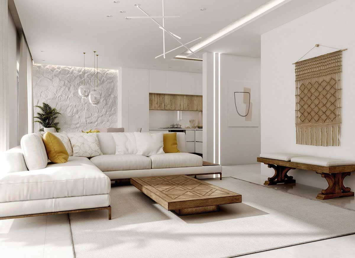 thiết kế nội thất địa trung hải ấn tượng