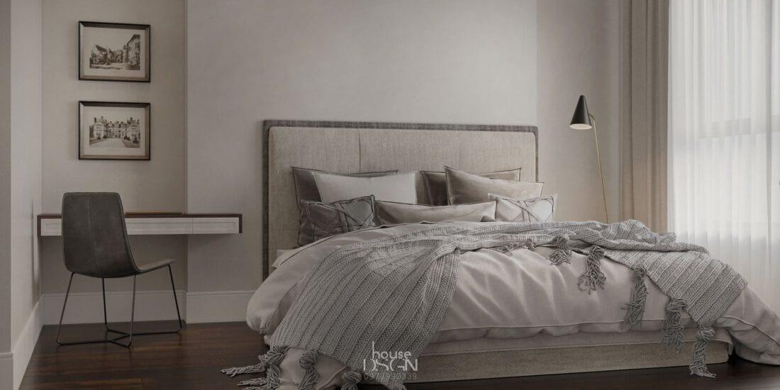 hướng dẫn trang trí bàn làm việc trong phòng ngủ