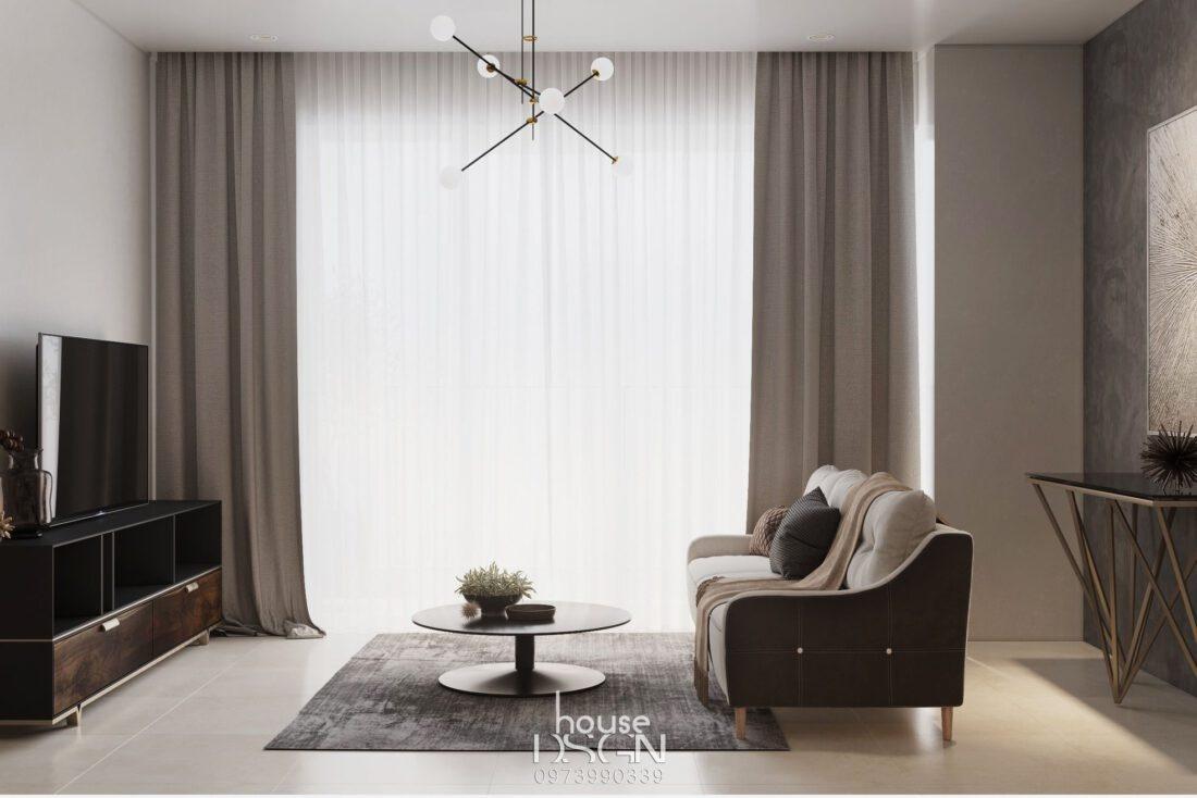 Trang trí phòng khách nhỏ đơn giản - Housedesign