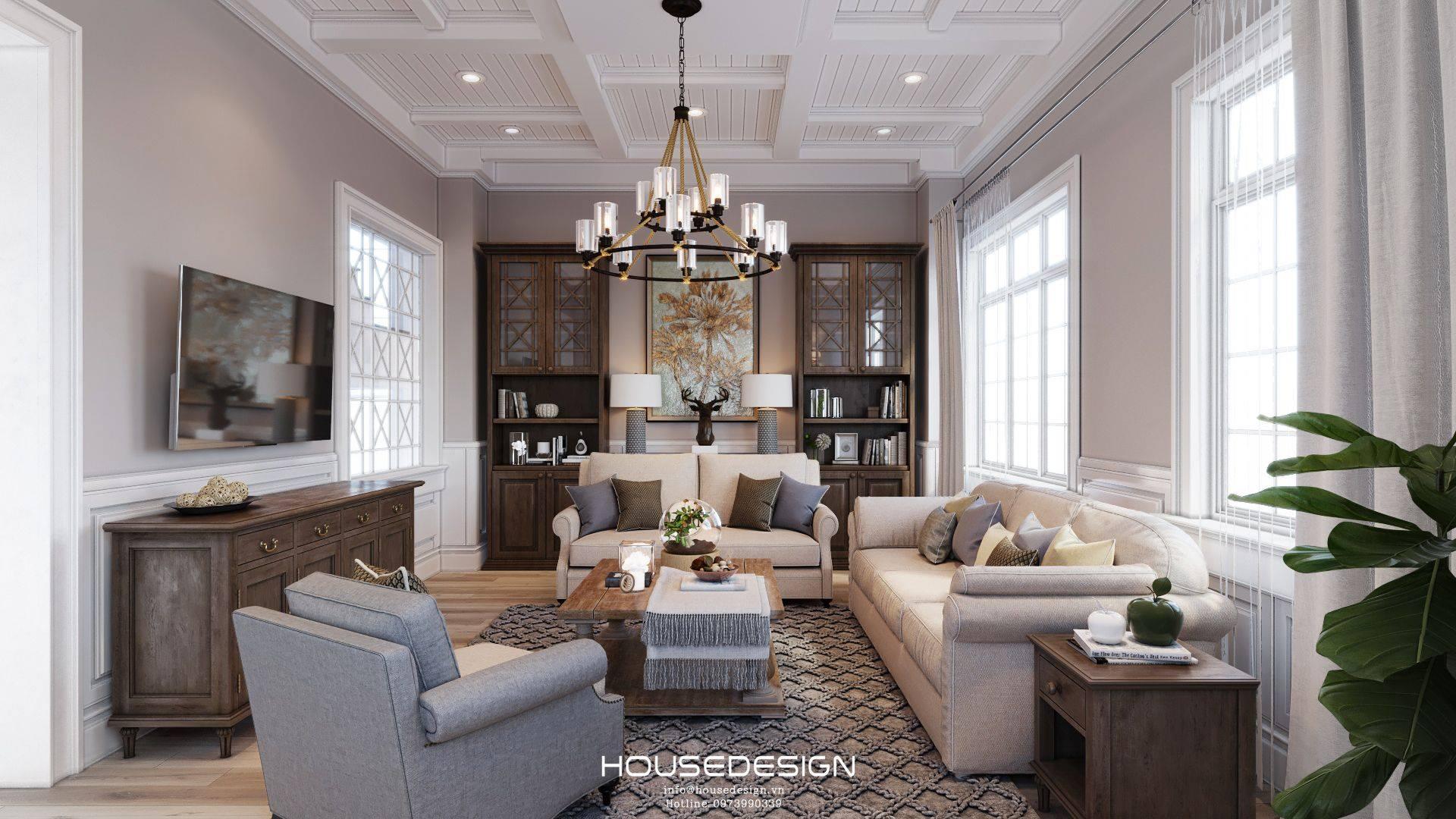 cách trang trí phòng khách - Housedesign