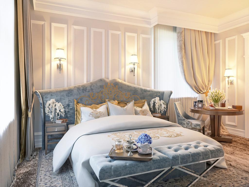 thiết kế nội thất phòng ngủ khách sạn 5 sao sang trọng - Housedesign