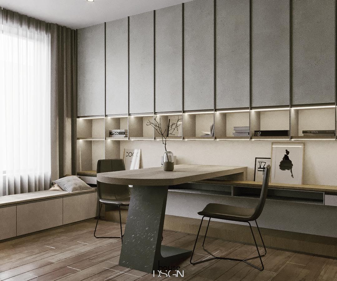 kích thước bàn làm việc tiêu chuẩn - Housedesign