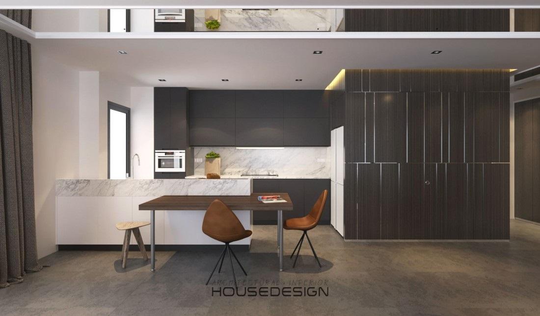 kích thước chiều cao tủ bếp - Housedesign