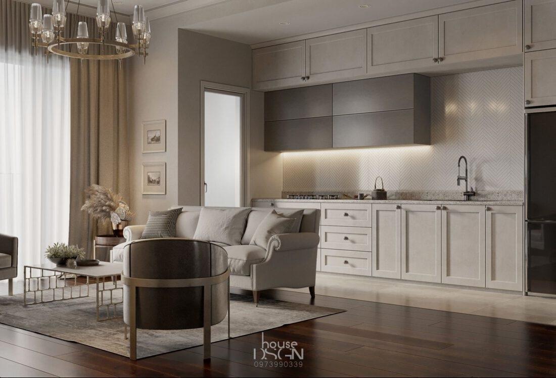 kích thước đảo bếp - Housedesign