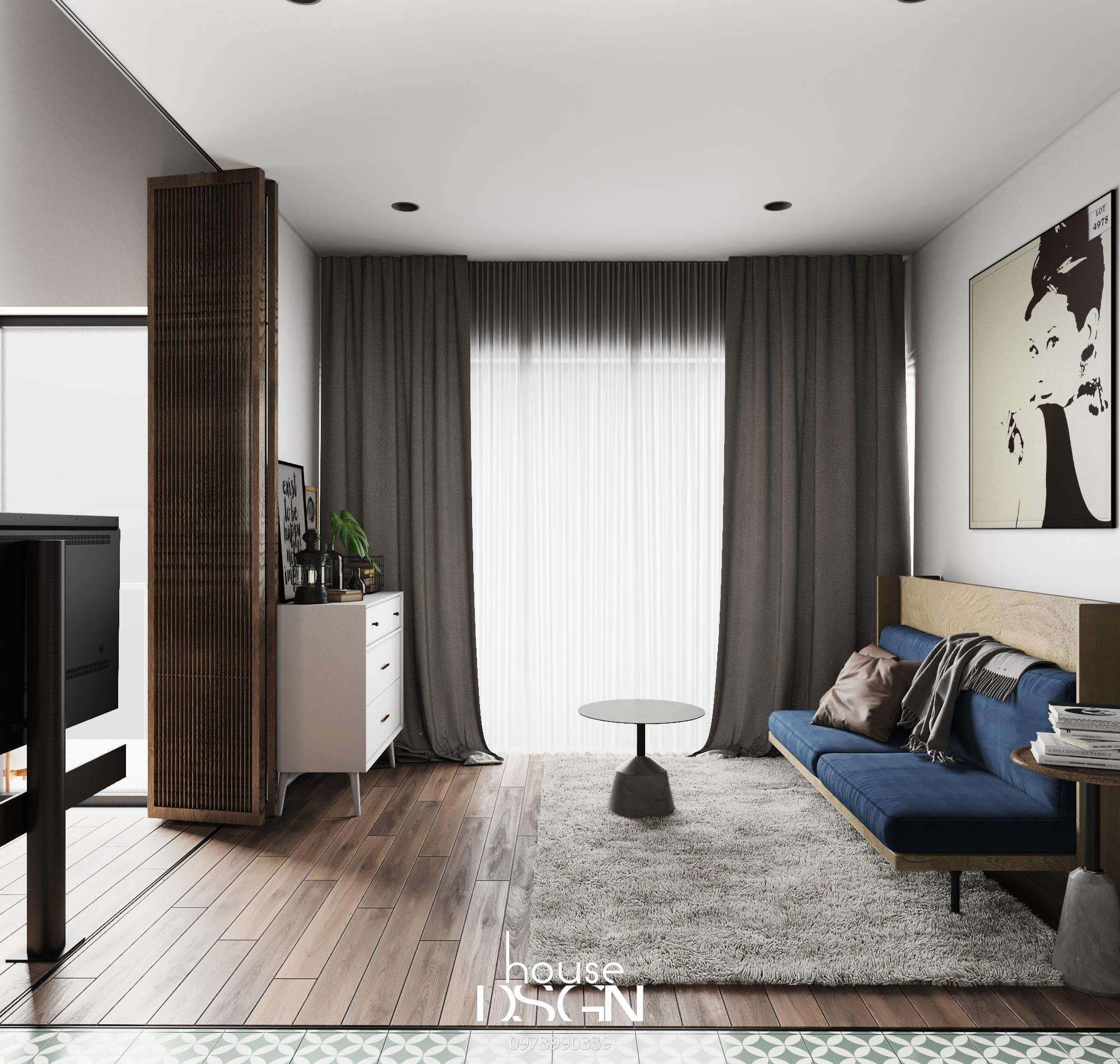 kích thước giường đôi - Housedesign