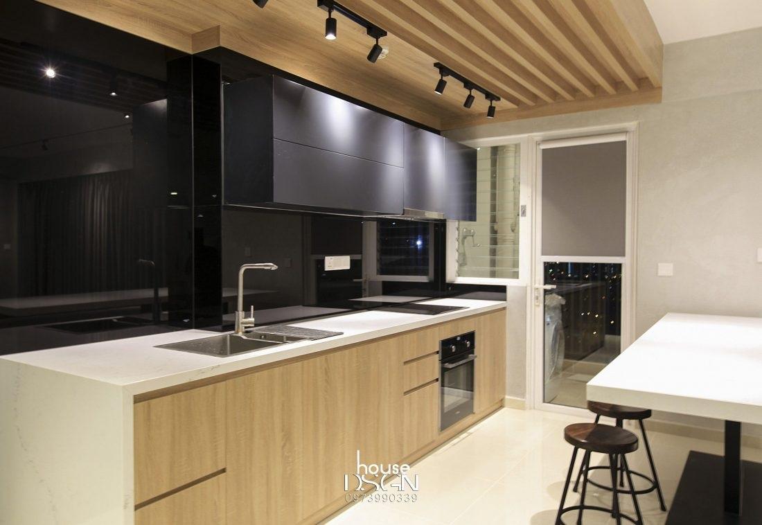 kích thước tiêu chuẩn tủ bếp - Housedesign