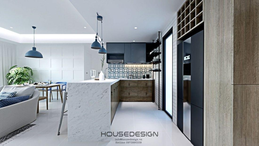 kích thước tủ bếp chuẩn xác - Housedeseign